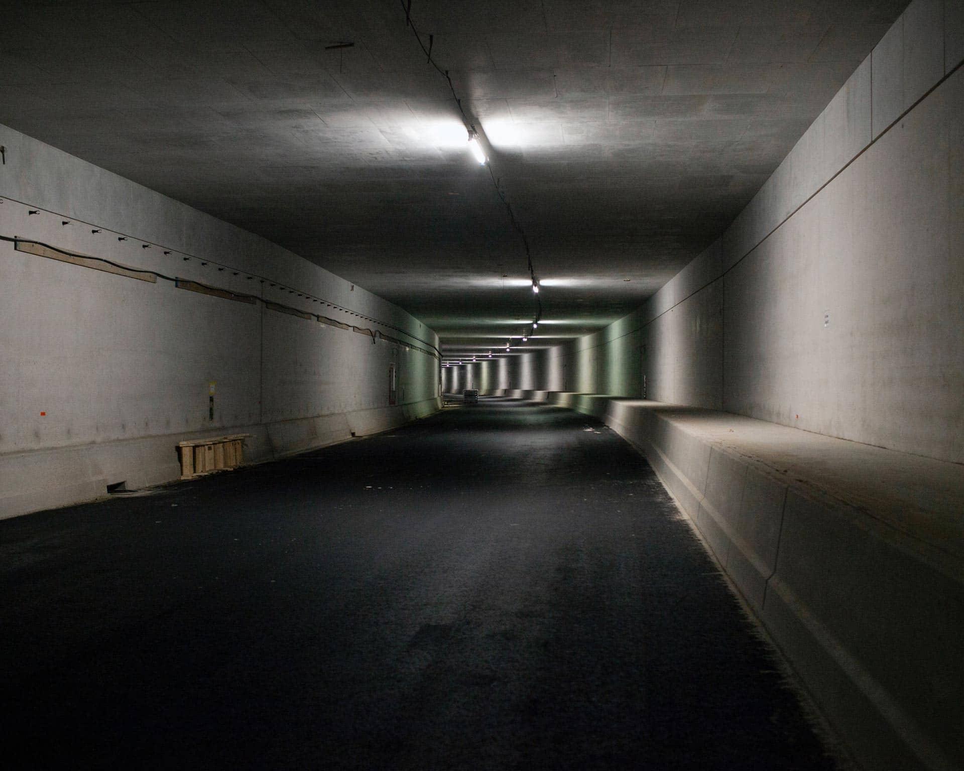 A2 tunnel beschikbaar gesteld voor het Gala-diner Thuis in de Tunnel ten bate van Ronald Mc Donald